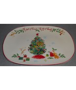 Lenox HOLIDAY PATTERN Inspirations THE GIFT OF FRIENDS Oval Serving Platter - $19.79
