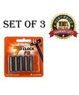 Set Of 3 Gillette 7 o'Clock PII Trac II Razor Blades - 5N Twin Blade Cartridges - $17.81