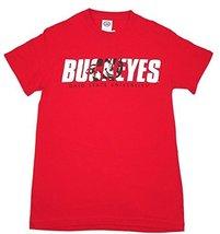 Ohio State Men's Brutus Buckeye Modern Fit Tee Shirt (XL)
