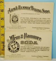 Lot of 2 Arm & Hammer Church & Dwight Co's Baking Soda Postcard Advertis... - $4.94