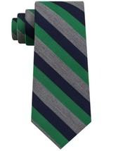 Tommy Hilfiger Men's Heather Stripe Tie (Green) - $51.79
