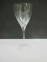 Lenox Cut glass Firelight Crystal goblet Made in USA Mt Pleasant PA mout... - $26.88