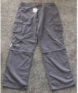 Omega Official Timekeeper Men's Nylon Zip-Off Pants Sz 2XL Gray NWT Hiki... - $37.52