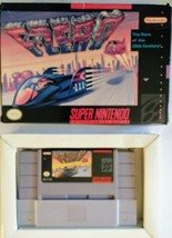 "SNES ""F-Zero"" Video Game 1991 and Box(NO Manual) Orig.Game  - $24.75"