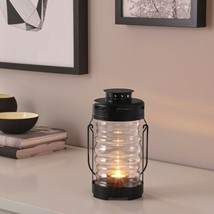 "IKEA GLIMRANDE Lantern f/tealight, indoor/outdoor, black, 9 "" - £27.12 GBP"