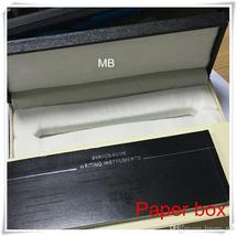 Luxury Pen Box with The papers Manual booklet For Gift mb case supply image 2