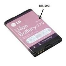 New OEM Original LG Battery BSL-59G for F9100, F2300, F2400, S5100, S5000, F3000 - $4.45