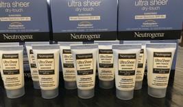 Neutrogena Ultra Sheer Zinc Dry-Touch Sunscreen Lotion SPF 85 Travel 10 Lot 2021 - $13.00