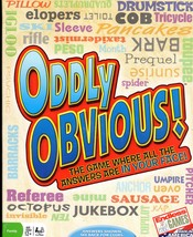ODDLY OBVIOUS! THE PARTY GAME  - $12.00