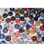 100 Beer Bottle Caps Mixed Lot Recycle Upcycle Craft Projects Collecting - $13.01