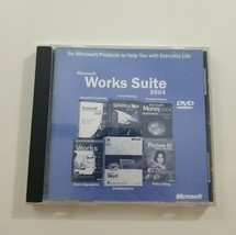 Microsoft Works Suite 2004 DVD  - $10.39