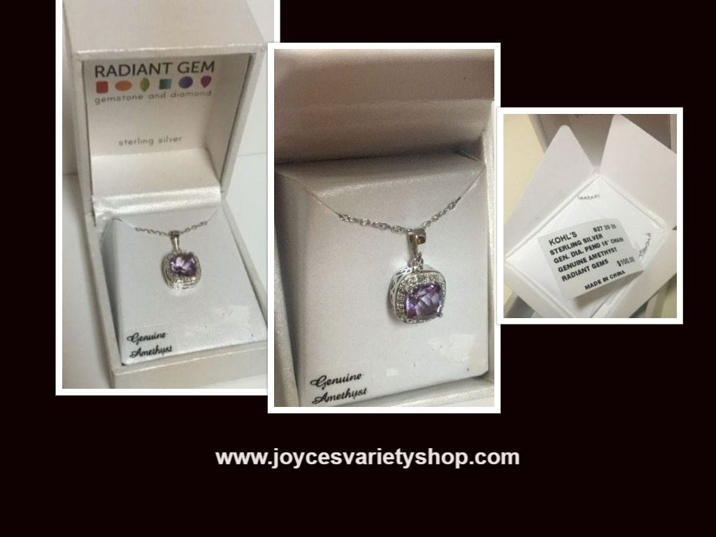 Amethyst necklace web collage