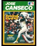 Vintage Jose Canseco Baseball Card Kit& Talking Baseball Card - $10.22