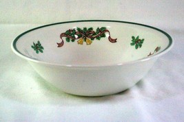 "Johnson Brothers Victorian Christmas 8"" Round Vegetable Bowl - $12.47"