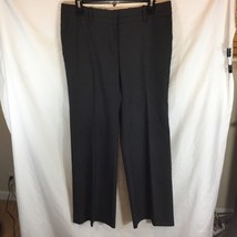 Ann Taylor Loft Womens Sz 6 Marisa Tweed Dress Pants Career Polyester Blend - $16.69
