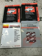 2002 Toyota TACOMA TRUCK Service Shop Repair Workshop Manual Set W EWD O... - $197.95