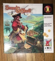 Sword & Skull Pirates Board Game, by Avalon Hill, 2005 - $14.80
