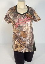 Women's Under Armour Hunt Realtree Camo Semi Fitted Script Tee T-Shirt 1... - $44.54