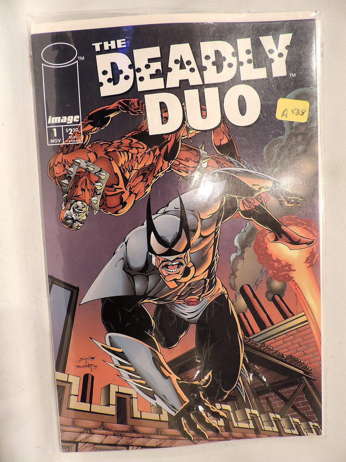 #1 The Deadly Duo 1994 Image  Comics A528