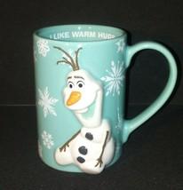 Olaf Frozen 3D Mug / I Like Warm Hugs / Disney Parks / Coffee Tea Home Office - $29.09