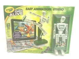 NEW Crayola Color Alive Easy Animation Studio Mannequin Stand Kid Toy 95-1052 - $18.32
