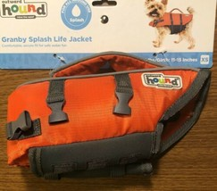 Outward Hound Grandby Splash Life Jacket 5-15 lbs Girth 11-15 Inches XS ... - $18.37