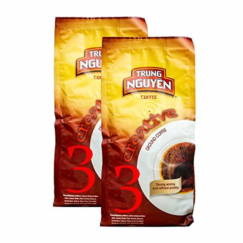 Primary image for Trung Nguyen Vietnamese Coffee - 2 Pack - Creative 3 Arabica Se, Vietnamese Gour