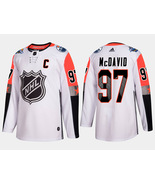 Youth Pacific Division Connor McDavid 2018 NHL All-Star White Captain Je... - $55.99