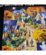 Vermont Christmas Company Halloween Town Wollenmann 550 Pieces Puzzle Co... - $14.84