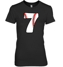 Seventh Birthday 7th BASEBALL Shirt  Number 7 Born in 2011 - $19.99+