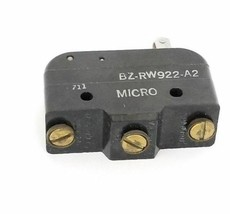 HONEYWELL MICRO SWITCH BZ-RW922-A2 ROLLER LEVER LIMIT SWITCH, 10A, 125/250/480V image 1