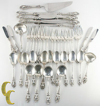 Eloquence by Lunt Sterling Silver Flatware Set 45 Pieces Great Condition - $2,598.77