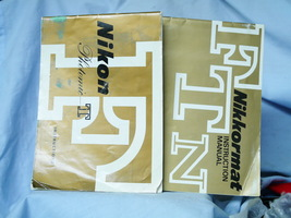 Nikon F Photomic T + Nikkormat FTN Original Makers Instruction Manuals -... - $15.00
