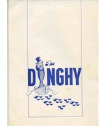 The Dinghy Dinner Menu Diplomat Resort Hotel Hollywood Florida 1970's - $47.52