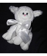 Proflowers Pro Flowers Lamb Sheep Plush Stuffed Animal White Satin Bow - $18.79