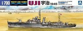 Aoshima Bunka Kyozai 1/700 Water Line Series Japan Navy gunboat Uzi Mode... - $40.37