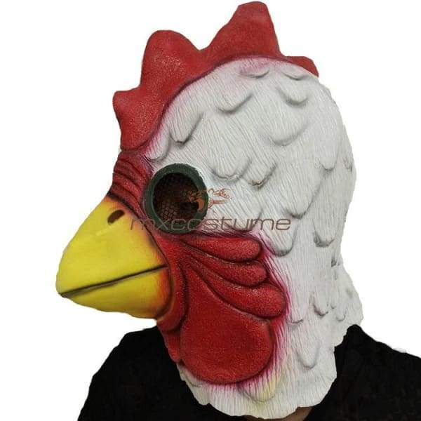 Xcoser Hotline Miami Cock Mask Latex Mask for Cosplay ... |Hotline Miami Pig Mask Rubber