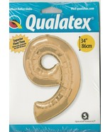 """Qualatex """"Number 9""""(or 6)  34""""  Foil Balloon - $10.37"""