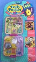 1989 Bluebird Polly Pocket Wild Zoo World Jungle Compact- MOC/NEW 10636 - $98.99