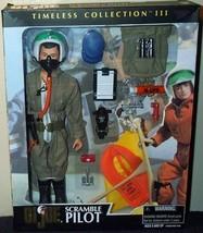 "GI Joe Timeless Collection SCRAMBLE PILOT 12"" Action Figure (2000 Hasbro) - $98.00"