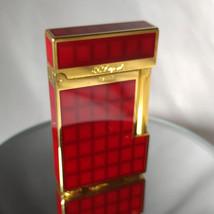 RARE VINTAGE ST DUPONT GATSBY VERTIGO LAQUE DE CHINE GOLD PLATED LIGHTER - $775.00