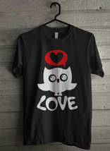 Owl Love - Custom Men's T-Shirt (1777) - $19.13+
