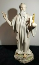 "Lovely RARE Cybis Saint Peter w/ Gold Key to Heaven Golden Gates 15.5"" F... - $194.00"