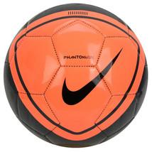 Nike PhantomVSN Soccer Football Ball Orange/Black SC3984-892 Size 5 - $29.99