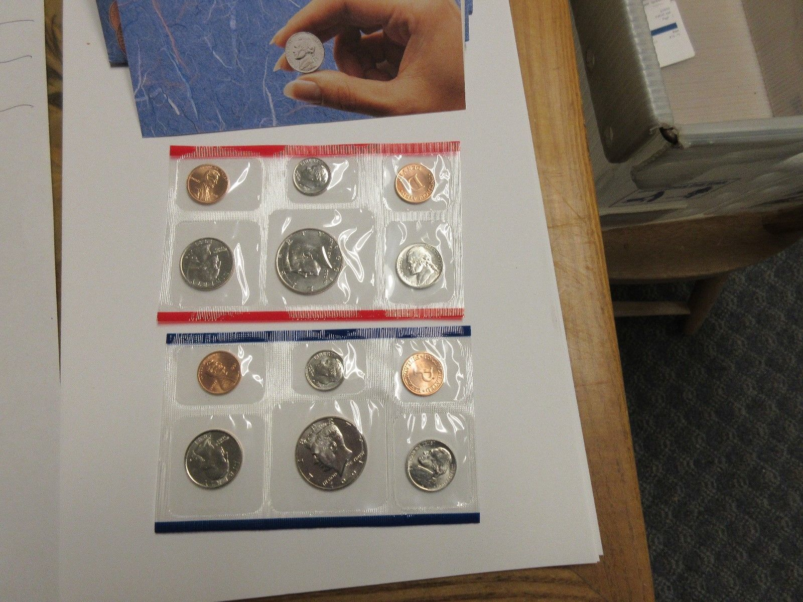 1991 , United States Mint , Uncirculated Mint Set , Lot of 5 Sets image 7