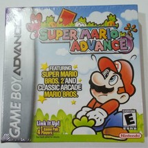 Super Mario Advance Nintendo Game Boy Advance 2001 Sealed - $74.24