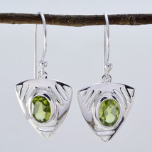 excellent Peridot 925 Sterling Silver Green Natural suppiler CA gift - $15.47