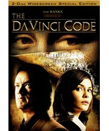 The Da Vinci Code, DVD Widescreen Two Disc Special Edition, Tom Hanks, 2006 - $9.99