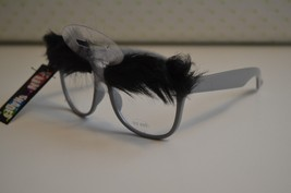 Lot of 4 Fun Shades Gray Classic Novelty Disguise Glasses With Eyebrows,... - $12.19