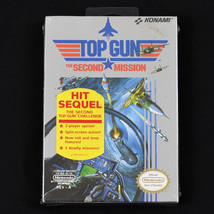 Top Gun: The Second Mission (Nintendo NES, 1990) NIB Factory Sealed Game... - $93.50